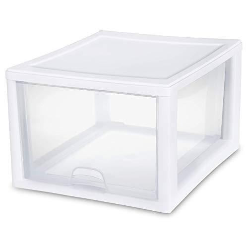 Sterilite 2310-4 27 QT/26 Liter stacking drawer (Pack of 4)
