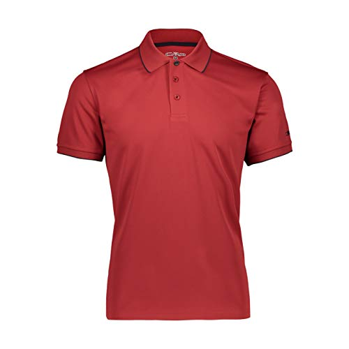 CMP Piquet Polo Shirt with UPF Homme, Brik, 50