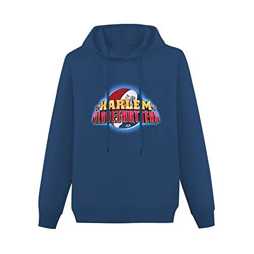 zxcvb Lightweight Hoodie Pullover Long Sleeve Harlem Globetrotters World Tour Cotton Blend SweatshirtsNavy3XL