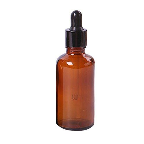Flacon à pipette - Pour les huiles essentielles - Verre teinté - Bodhi2000