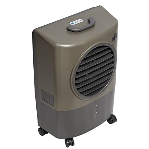 Hessaire MC18V Portable Evaporative Cooler, Green, 1300 CFM, Cools 500...