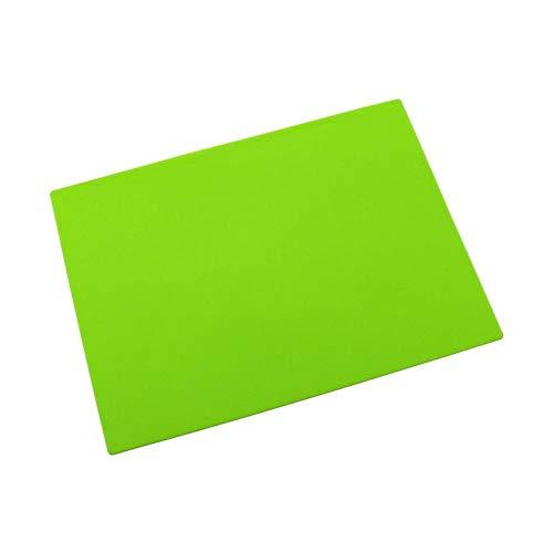 1 stuk siliconen placemat deurmat bakplaat deurmat anti-aanbaklaag placemat bescherming tafel pad waterdichte onderzetter keuken benodigdheden 28X21Cm @groen