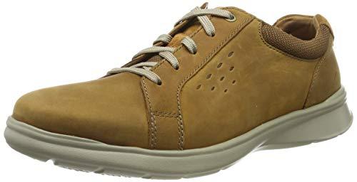 Clarks Herren Cotrell Stride Derbys, Braun (Tan Leather), 41.5 EU