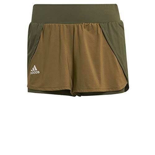 adidas T Match Shorts für Damen S Pinsil/Alumin/Mussil
