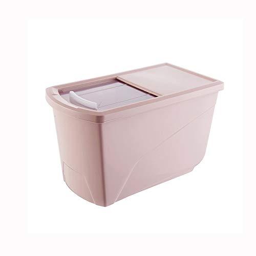 SMEJS Kunststoff Müslispender Aufbewahrungsbox Küche Lebensmittel Reiskorn Behälter Organizer, Getreide Aufbewahrungsdosen Behälter Gläser
