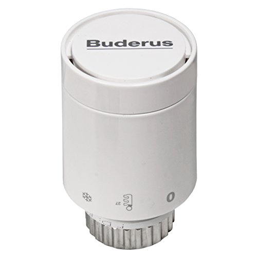 Buderus Logafix Thermostatkopf BD-1 mit Klemmanschluss (f. Ventilheizkörper)