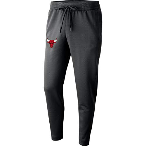 Disery Herren-Basketball-Pants Chicago Bulls Beiläufige Sport-Hosen Feuchtigkeitstransport Schnell trocknend Track and Field Basketball Training Pants,S