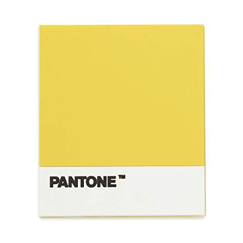 Balvi Sottopentola Pantone Colore Giallo Sottopentola Resistente al Calore Design Utensile da Cucina Originale Antiscivolo Silicone 0,4x14,2x15,5 cm