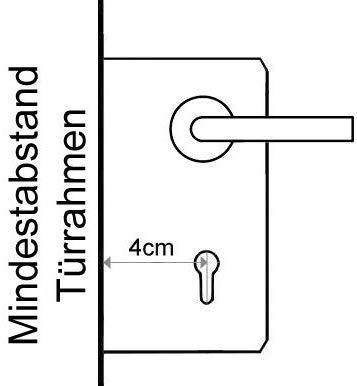 SOREX FLEX - Türschloss biometrisch mit deutschem Support! Türöffner mit Fingerabdruck und RFID Zylinder inkl. Batterien | Keine Schlüssel nötig | Keyless Smart Lock | elektronisches Schloss - 3