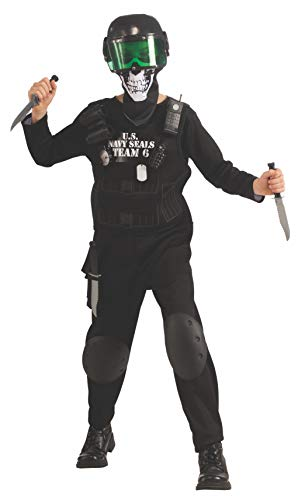 Value Black Seal Team 6 Costume with Accessories, Small