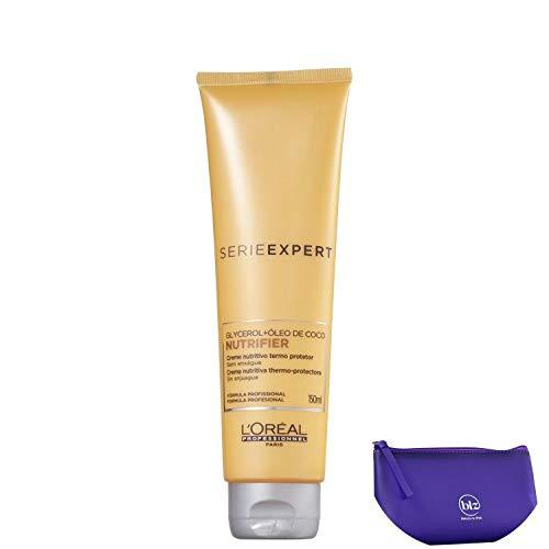 L'oréal Professionnel Expert Nutrifier - Creme Protetor Térmico 150ml+Nécessaire Beleza na Web Roxo