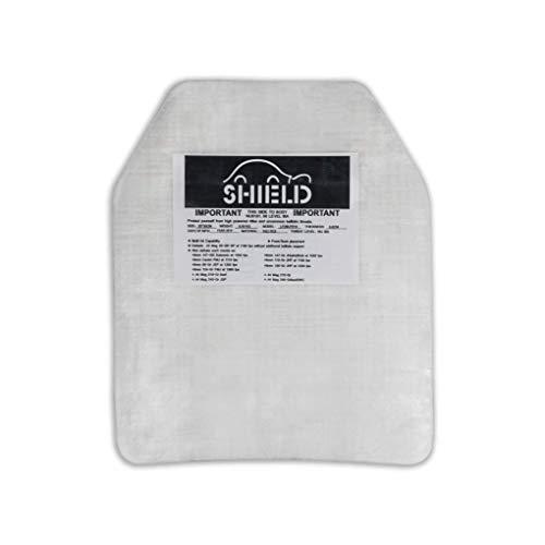 SHIELD SK2 / NIJ IIIA Platte Schutzplatte, Einschubplatte für schusssichere Weste oder Plattenträger