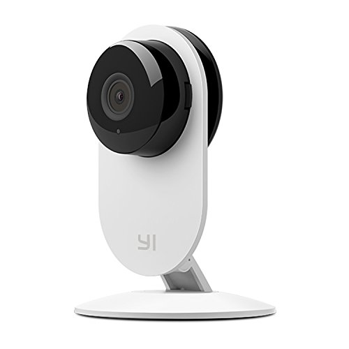 YI 87003 Home Camera (Official U.S. Edition) with 32GB Micro SD - Wi-Fi Video Monitoring IP/Network Camera Surveillance/ Video Security Camera/ Home Security System, Baby Monitoring