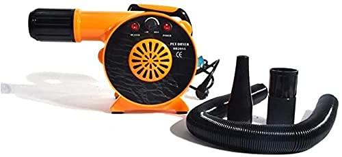 HJUYV-ERT Máquina de Aire para Mascotas Secador de Pelo para Perros y Mascotas Soplador Secador de Aseo para Perros de bajo Ruido 2300 W de la Variable de Viento de los Estados Unidos