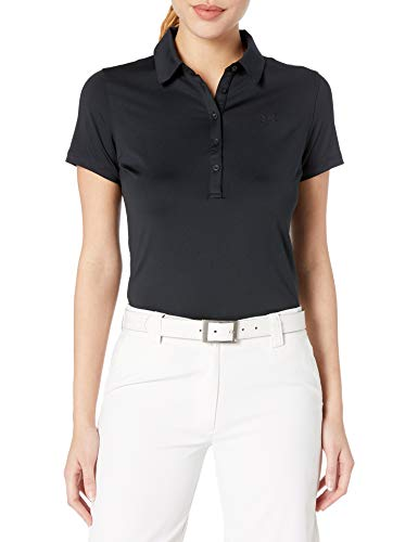 Under Armour Damen Poloshirt Zinger SS, Black, L, 1272336-001