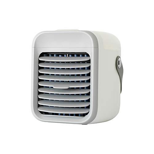 Condizionatore Portatile Batteria 2000mAh, 3 in 1 mini raffreddatori evaporativi purificatore umidificatore, ventola da tavolo USB, 3 Livelli di Raffreddamento per Ufficio, Camera da Letto, Esterno