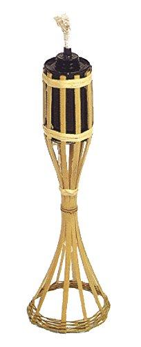 VERDELOOK Torcia in bambù con Contenitore per Olio lampante, 35 cm, Giardino