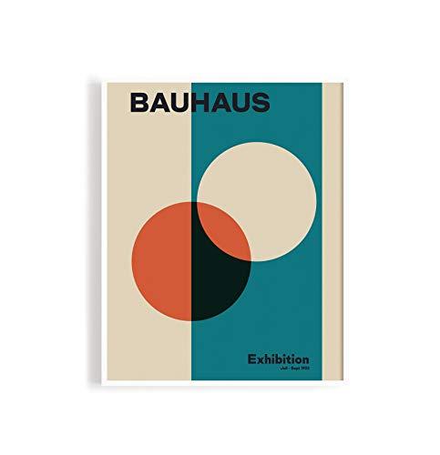 MReinart Bauhaus Exhibition Vintage Plakat 1923 - DIN A2 Poster Ungerahmt Reproduktion 250 g/m²