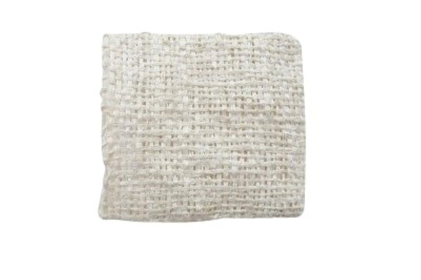 応じる状ブレンドきびそ(生皮苧)フェイスミトン 純国産(原糸 群馬県産) 3000デニール