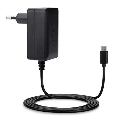 Aukru Caricatore 5V 3A con USB Tipo C Alimentatore per Smartphone LG/HTC/XIAOMI/Huawei/Samsung/Switch/Raspberry Pi 4 ECC