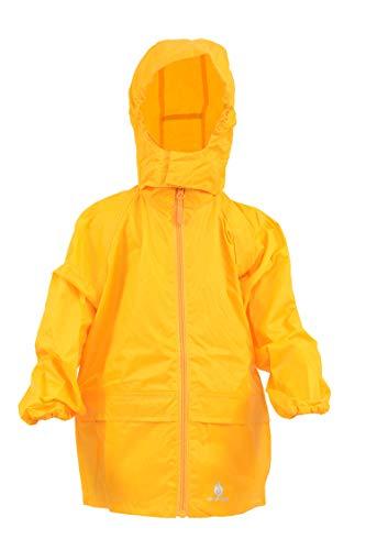 DRY KIDS Packaway Waterproof Jacket. Unisex Coat Ideal for Outside Play....