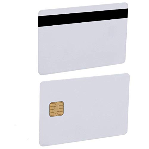 Petsking J2A040 Java JCOP Chip Cards JCOP21-40K Java Smart Card mit 2 Track 8,4 mm HICO Magnetstreifen-5 Stück