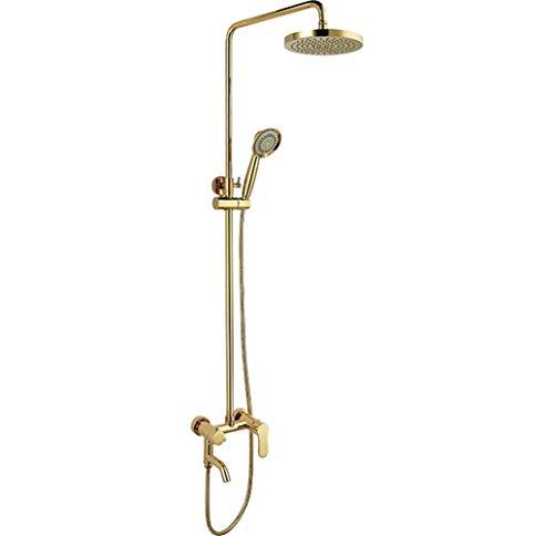 Duradero Baño Conjunto de ducha de temperatura ajustable moderno con un solo mango (Bath & Shower Faucet Type : Exposed Shower Faucets)