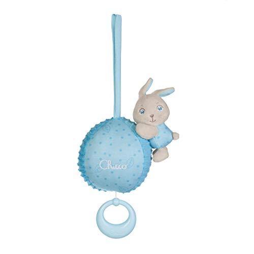 Chicco Carillon Coniglietto Azzurro, 0 Mesi +