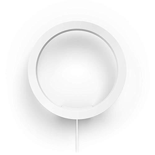 Philips Hue White and Color Ambiance LED Wandleuchte Sana, dimmbar, steuerbar via App, kompatibel mit Amazon Alexa, weiß