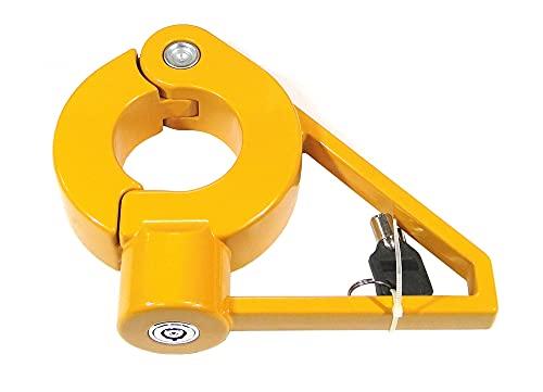Kingpin Lock - Cerradura de quinta rueda de aleación resistente para 5ª rueda de seguridad, antirrobo, King, alta seguridad para remolques, trailer, tractores, Antirrobo 5ª Rueda Universal