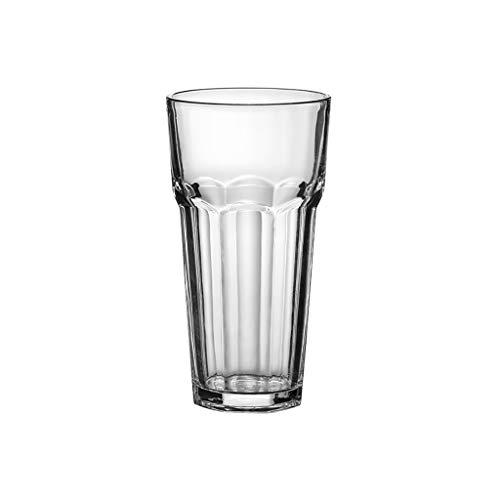ZZL Jarra Cerveza Taza de Cerveza Glass Glass Highball Glasses Congelador Copa de Pintura Lavavajillas Caja Fuerte para Bebidas de Refrescos de Cerveza Regalo de Cerveza (Color : Clear2)