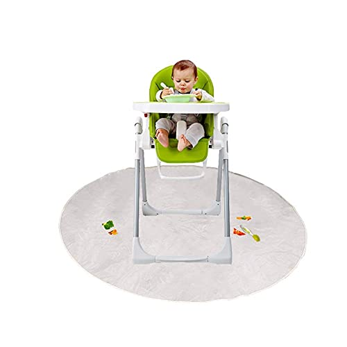 Product Image of the Loodial Splat Mat for Under High Chair/Arts/Crafts Kids Toddler Washable Large...