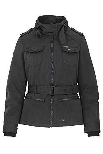 Khujo KELLAGE 2 getailleerde winterjas met opstaande kraag in fieldjacket-look