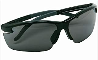 Msa Pyrenees Impact Resistant Safety Glasses With Black Frame And Gray Polycarbonate Anti-fog Lens, 1/ea