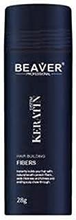 Beaver KERATIN Hair Building Fibres Hair Loss Concealer 28g Dark Brown (Beaver Fibres)