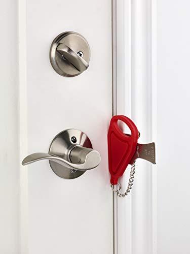 Addalock the Original Portable Door Lock by Rishon Enterprises Inc. (1 Piece), for Home Security, Apartment Security Lock, Travel Door Lock, AirBNB Lock and Dorm Room Essentials