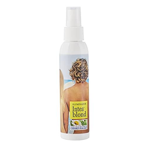 Spray Iluminador INTEA BLOND para cabello rubio y castaño claro Camomila Intea. Sin alcohol