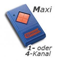 Becker Handsender (Maxi) 1-Kanal für Beck-O-Tronic 4