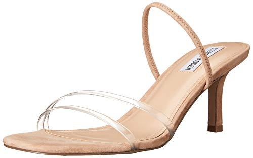 Steve Madden Loft Heeled Sandal Clear 6.5