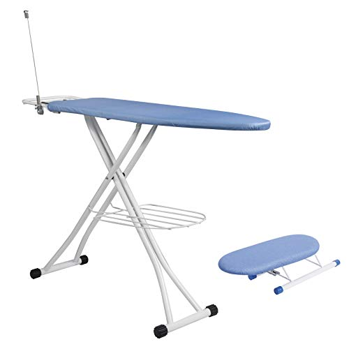 Lestarain Table Planchar Metal Plegable Altura Ajustable