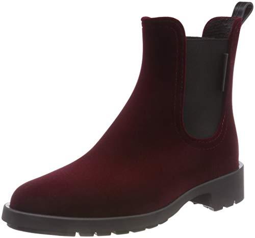 Marc O'Polo Women's Rubber Wellington Boots, Red (Bordo 375), 7.5 UK