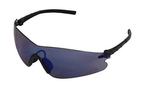 Medop 911549 Reflex Gafa Policarbonato Espejada, Montura F, Azul