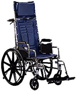 Invacare Tracer SX5 Recliner Wheelchair (Options - Seat Size: 18