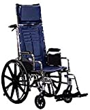 Invacare Tracer SX5 Recliner Wheelchair (Options - Seat Size: 18' wide x 16' deep (Standard))