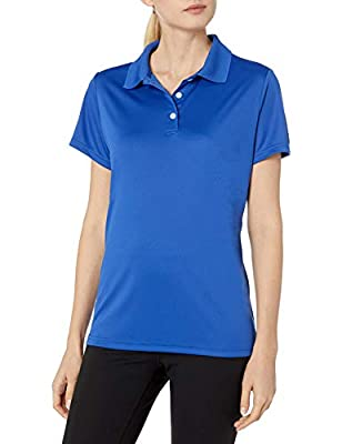 Hanes Sport Women's Cool DRI Performance Polo,Deep Royal,Medium