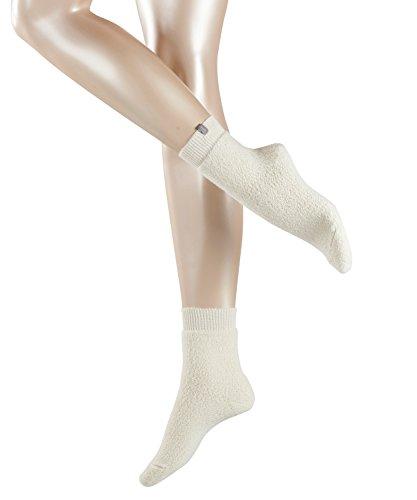 ESPRIT Damen Socken Relax - Wollmischung, 1 Paar, Weiß (Woolwhite 2060), Größe: 39-42