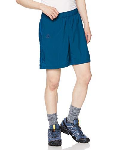 SALOMON Agile 7'' Short M Pantalones Cortos De Correr, Hombre, Azul (Poseidon), S