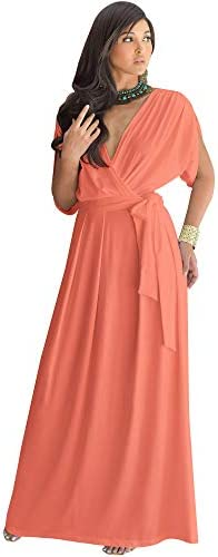 Coral evening gowns _image4