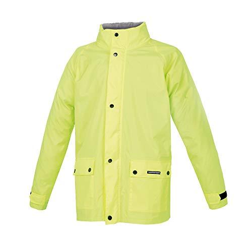 Tucanourbano Diluvio Plus Veste imperméable jaune fluo, 4XL