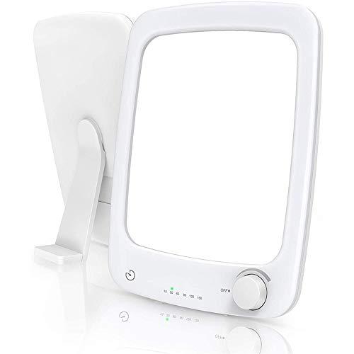 10000 Lux Lampada Fototerapia Luminoterapia Sveglia da Comodino Elettrica con Luce Alba, Luce Notturna con Terapia Luce per Disturbo Affettivo Stagionale